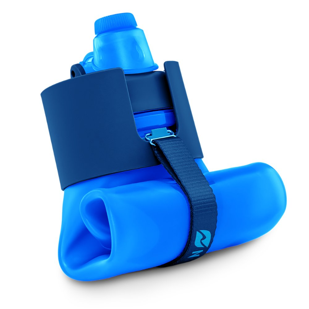 botella de agua plegable para viajes