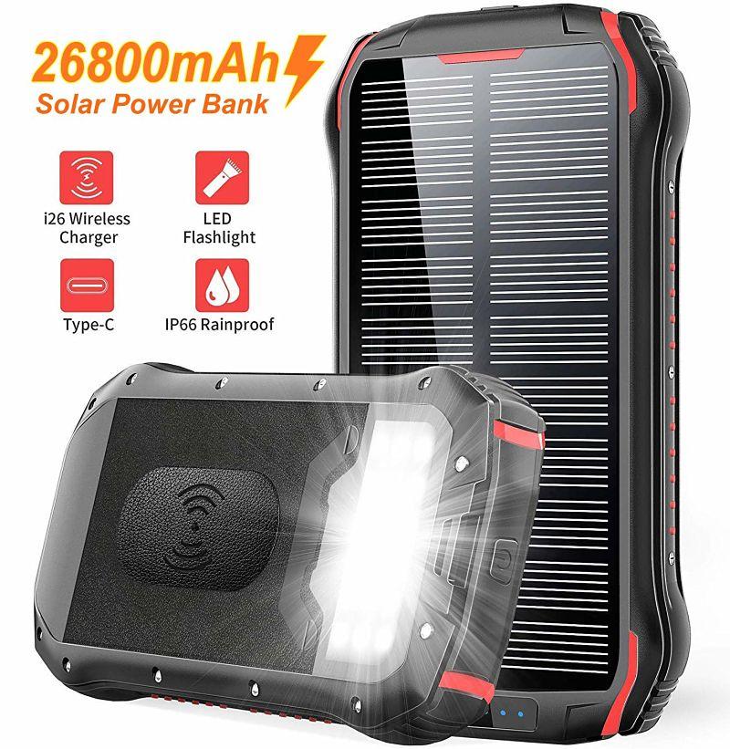 cargador solar portatil para viajes