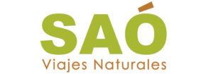 Logotipo Agencia de viajes naturales SAO