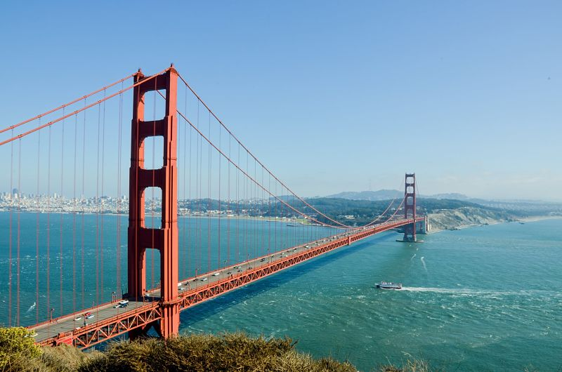 Golden Gates California