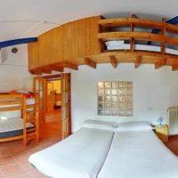 habitaciones albergue el cantalar cazorla